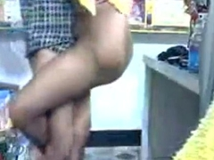 Indian Maid Towards the rear Having Sex in store-room