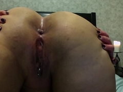 Bent abandon gaped ass preparing to be fucked