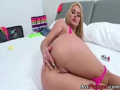 Abby Cross - Beach Blondes Anal Creampie