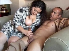 Pretty latina plumper loves engulfing horseshit &amp_ the taste be useful to cum