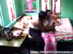 Indian house proprietor fucked house maid be proper of totalling