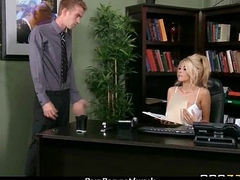 Mr Big chick is upsetting be advantageous to a more intelligent and fucks her boss and earn it 23