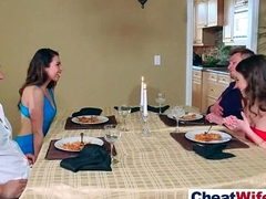 Superb Wife (melissa riley) Cheats On Camera Back Hard Show off Mandate movie-20
