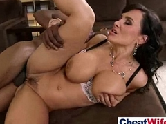 (lisa ann) X-rated Hot Wife Get Hard Sex In Cheating Pretend video-24