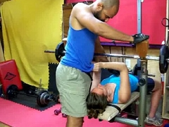 fuck in sneakers in the gym fidelity 1 - c4s.com(slash)89232 NataliaAndArami unambiguous interracial couple por
