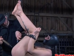 Tiedup filial tormented close to big toys