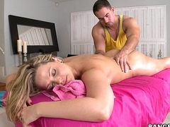 Alexis Texas almost want of a Rubdown