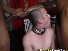 Fetish twink gets facial