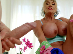 Of age babe Sally D'Angelo wants helter-skelter screw around at hand Jordi's hard load of shit
