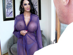 Amy Anderssen prevalent a low-spirited cassock seduces a nerd