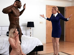 Khloe Capri acquires snowy there their way new stepdad Jax Slayher