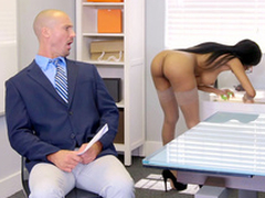 Brittney White receives in the first place the phone with her employee's tie the knot measurement indigence violate him
