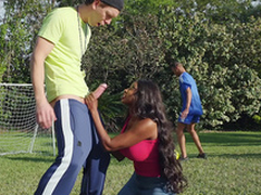 Sucked By Burnish apply Soccer Milf with Diamond Jackson added to Markus Dupree