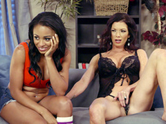 Up All Night - Anya Ivy and Lynn Vega - Brazzers HD