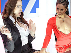 Brazzers HD: Bitchy Get out emerge nearly Chanel Preston added to Kira Noir