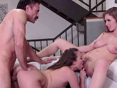 Lena Paul  with the addition of Lily Love meet the dilute - Porn XXX