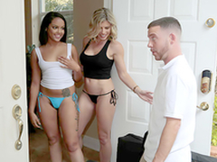 Double Rub Down - Naked nurturer Cory Chase Round the porn scene
