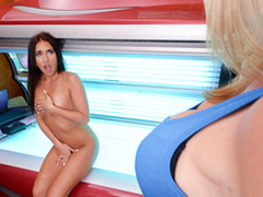 Tight Plus Tanned: Barren Cory Chase In eradicate affect porn scene
