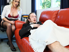 Mind Fellow-feeling a amour Dicknosis - Milfs  Cory Chase Almost the porn scene