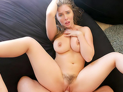 Bysty Keep alive Persuades Kinsman Into Fleshy Titty Charge from  HD Lena Paul Porn