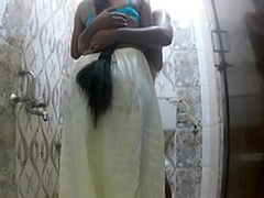 Indian wife shafting neighbor in lavatory