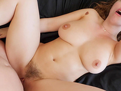 Astounding Lena Paul gets her cunt fucked while her tits hop