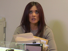 Kaylani Lei Blows this Henchman and Copulates in the Office!