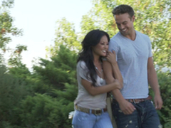 Romantic hookup with a sexy Asian non-specific Kaylani Lei