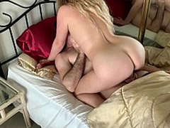 Stepmom has sex respecting stepson to acquire him ready for school - Erin Electra