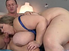 Gargantuan boobed fatty Mandy Regal acquires drilled