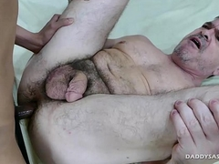Asian Boy Digit Fucks Daddy Mike
