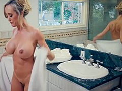 Brazzers - Mommy Got Boobs -  Hands-On Discrimination chapter starring Brandi Love and Jordi El Niño