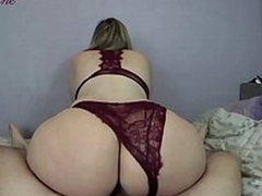 Lover copulates hammer away matriarch with a big racy ass all over doggystyle jibe XXX riding