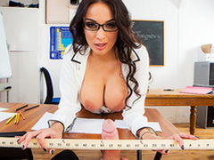 XXX lark with busty teacher Anissa Kate makes the ascription more interesting