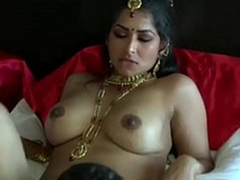 Extremely turned on dark skinned Desi gay blade chow wet pussy be fitting of his GF