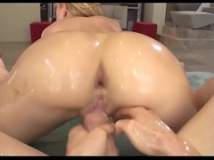 Oily Busty Girl Twerks essentially the Cock increased by Shoted Jizz in Month - chatscams.com