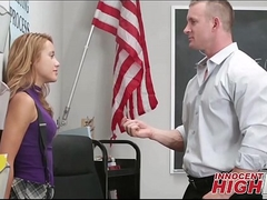 High School Girl Caught Smokin' Pill And Screwed - InnocentHighHD.com
