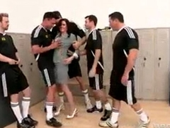 five guys fuck one unladylike blowjobs
