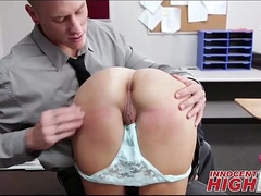 Cute State school Unshaded Punished Convenient School - InnocentHighHD.com